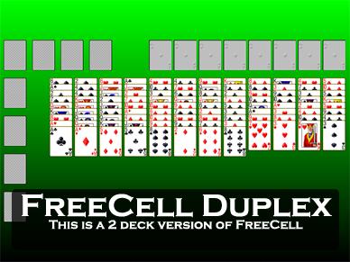 freecell green felt